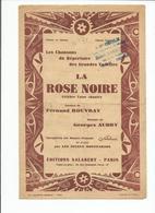 Partition  LA ROSE NOIRE Fernand Rouvray - Partitions Musicales Anciennes