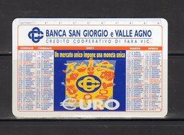 Banca San Giorgio E Valle Agno - Credito Cooperativo Di Fara Vicentina - - Calendars