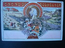 Publicité DEBEUKELAER'S  CACAO   :  PROVINCES LLIMBOURG Et D'ANVERS - België