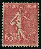 FRANCE - YT 201 ** - SEMEUSE LIGNEE 65c - TIMBRE NEUF ** - 1903-60 Semeuse A Righe