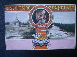 Publicité DEBEUKELAER'S  Biscuits De    :  PROVINCES  De Liège - Belgique