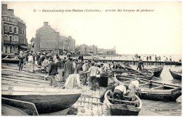 14 GRANDCAMP-les-BAINS - Arrivée Des Barques De Pêcheurs - Autres Communes