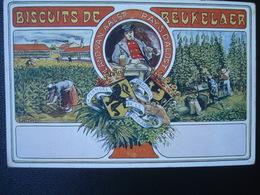 Publicité DEBEUKELAER'S  Biscuits De    :  PROVINCES  De Flandre ORIENTALE Et Le BRABANT - België