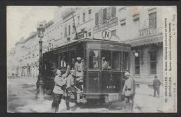 BRUXELLES - Soldats Allemands Conduisant Un Tramway - Transport (rail) - Stations