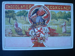 Publicité DEBEUKELAER'S  CHOCOLAT  De    :  PROVINCES  Du LIMBURG - België