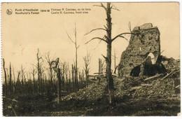 Houthulst, Fôter D'Houthulst 1914-18, Château R Couteau, Vu De Face  (pk44251) - Houthulst