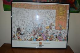 TINTIN - Cadre Le Temple Du Soleil - Afiches & Offsets