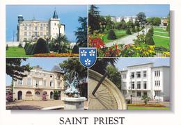 69  SAINT PRIEST / MULTIVUES  BLASON - Autres Communes