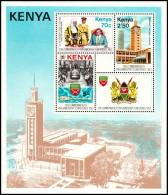 Kenya 1983 - Commonwealth Conference - Mi. Block 20  ** MNH ~~~ - Kenya (1963-...)