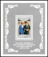 Kenya 1981 - Royal Wedding Charles Diana - Mi. Block 16  ** MNH ~~~ - Kenia (1963-...)