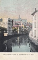 MECHELEN / OLV KERK EN DE DIJLE  1907 - Malines