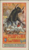 PAMPLONA * SAN FERMIN 1948 * PROGRAMMA DE FESTEJOS * 20.5 X 12 CM * 18 PP - Programmi