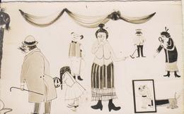 CLUB MEDITARRANEE LES CHAMOIS LEYSIN - LA FAMILLE CHAMOIS - SALLE DE ANSE - DECORATION CLEM ET WILLY - SUISSE - Humour