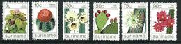 SURINAME MNH - 1985 Cacti - Cactus - Vari Cent - Michel SR 1114 1119 - Suriname