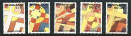 SURINAME MNH - 1985 Easter - Pasqua - Vari Cent - Michel SR 1125 1129 - Suriname