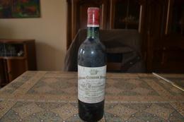 Vin Chateau Corbin Michotte Grand Cru Classé Saint Emilion 1971 - Wine