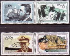 TRISTAN DA CUNHA 1991 SG #514-17 Compl.set Used 70th Birthday Of Prince Philip - Tristan Da Cunha