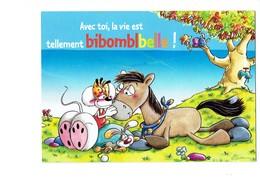 Carte DIDDL N° 10/10 - SOURIS MOUSE Lapin Cheval Robinet Sur Arbre Oiseau - Diddl