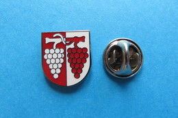 Pin's, Ville, Blason, MAISPRACH, Wappen, Suisse, Vigne - Cities