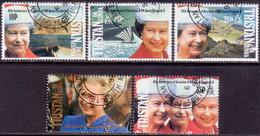 TRISTAN DA CUNHA 1992 SG #526-30 Compl.set Used 40th Anniv Of Queen Elizabeth II - Tristan Da Cunha