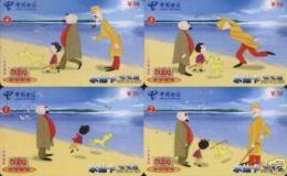 CHINA  Telefonkarten  - Comic, E.O. Plauen - Siehe Scan - - Comics