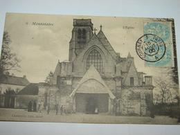 C.P.A. - Montataire (60) - L'Eglise - 1905 - SUP (V58) - Montataire