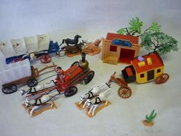 Lot Pour Western (3 Photos ) - Figurines