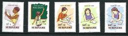 SURINAME MNH - 1985 Child Welfare - Vari Cent - Michel SR 1157 1161 - Suriname