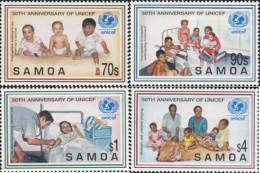 Ref. 45562 * NEW *  - SAMOA . 1996. 50th ANNIVERSARY OF UNICEF. 50 ANIVERSARIO DE LA UNICEF - Samoa