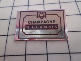 Pin713L Pin's Pins / Beau Et Rare / BOISSON : VIN CHAMPAGNE H.GERMAIN Les Germain Adorent Le Champagne Francais !!! - Beverages