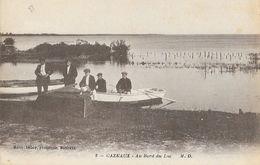 Cazeaux (Cazaux, Gironde) - Au Bord Du Lac, Canot - Edition Marcel Delboy - Carte M.D. Non Circulée - France