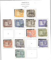 Venezuela PA 1958 Arms Merida   .Scott.C674/679+682/685+687/688 +See Scans On Scott.Page - Venezuela