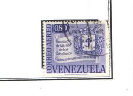 Venezuela PA 1958 Arms Merida   .Scott.C687 +See Scans On Scott.Page - Venezuela