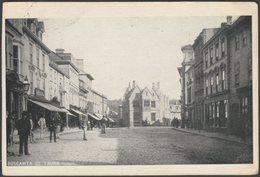 Boscawen Street, Truro, Cornwall, 1911 - Pictorial Postcard - England
