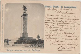 CPA LUXEMBOURG MONDORF Environs L'Aigle Romaine De Dalheim Timbre Stamp 1901 - Mondorf-les-Bains