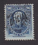 Argentina, Scott #O14, Used, Regular Issues Overprinted, Issued 1884 - Dienstpost