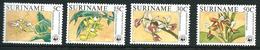 SURINAME MNH - 1986 Orchids - Vari Cent - Michel SR 1166 1169 - Suriname