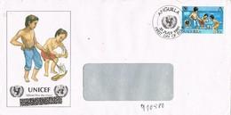 28275. Carta Aerea Leeward Islands (ANGUILLA) 1981. Unicef - Anguilla (1968-...)