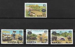 Kenya 1977 25th Anniversary Of Safari Rally, Complete Set (6552) - Kenya (1963-...)