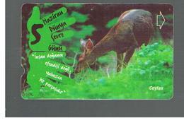 TURCHIA  (TURKEY)  -  2001  ANIMALS: GAZELLE   - USED - RIF. 10777 - Turquia