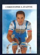 CYCLISME CHRISTOPHE LAVAINNE- EQUIPE CASTORAMA - Cyclisme