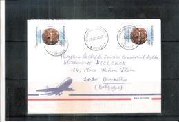 Lettre De République Du Congo Vers La Belgique - 2002(à Voir) - Oblitérés