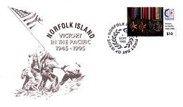 Norfolk Island 1995 Victory FDC - Norfolk Island