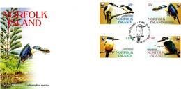 Norfolk Island 2004 WWF Kingfisher FDC - Norfolk Island