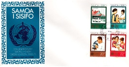 Samoa 1973 25th Anniversary Of World Health FDC - Samoa