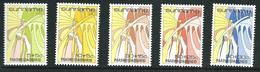 SURINAME MNH - 1986 Easter Pasqua - Vari Cent - Michel SR 1172 1176 - Suriname