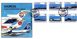 Samoa 1988 Faleolo Airport FDC - Samoa