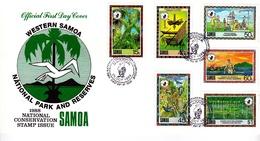 Samoa 1988 National Parks And Reserves FDC - Samoa