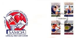 Samoa 1988 Olympic Games Seoul FDC - Samoa