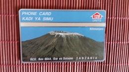 TANZANIA  LANDIS &  GYR 410 A - 120 Units - Kilimanjaro - (MINT,NEUVE) VERY RARE - Tanzania
